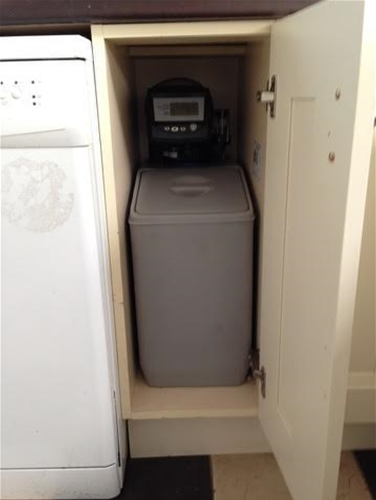 Under Counter Water Softener 12000 Grains With Free