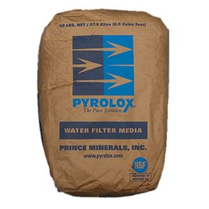 Pyrolox Filter Media 0.5 Cubic Foot Free Shipping